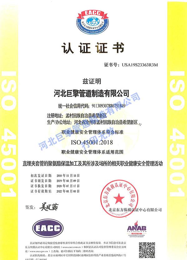 职业健康证书